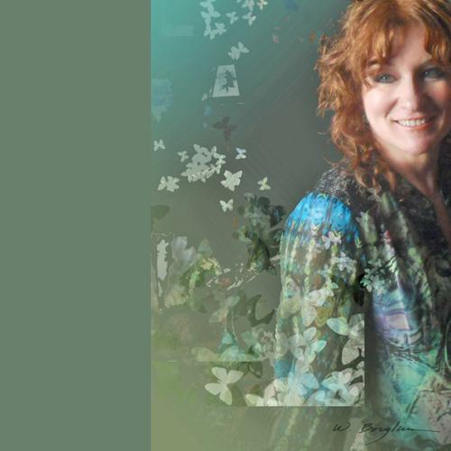 Wendy Borglum self-portrait