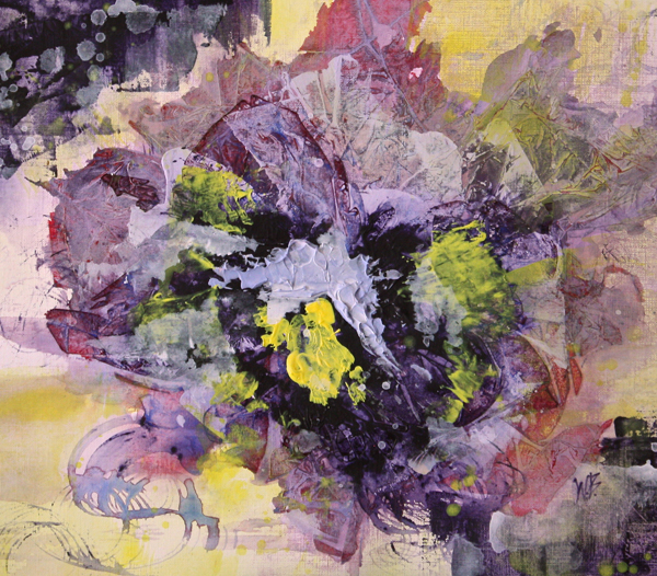 Viola in Violet