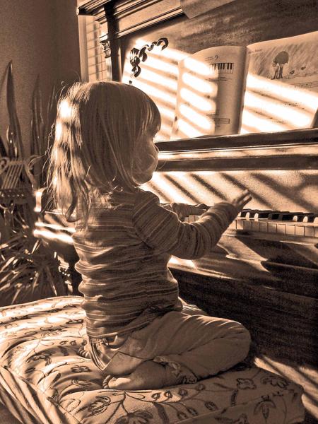 Gwyneth at age 2