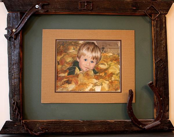 H. portrait as framed