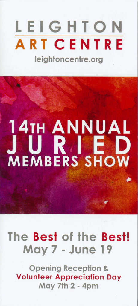 Leighton 14th Juried Show